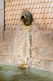 Wasserabwasserkanal Stockfotografie
