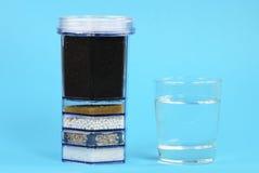 Wasseraufbereitung-Filter Lizenzfreies Stockfoto
