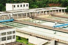 Wasseraufbereitungsanlage Stockfotografie
