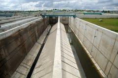 Wasseraufbereitungsanlage Stockfotos