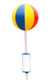 Wasserball, getrennt auf Weiß Lizenzfreie Stockfotos