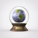 Wasserball-Planetenerde Stockfotografie