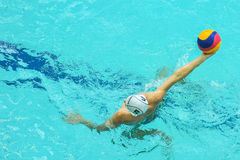 Wasserballspiel Lizenzfreies Stockfoto
