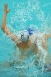 Wasserballspiel Stockfotos