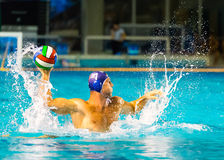 Wasserballspieler Lizenzfreies Stockfoto