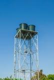 Wasserbeckenkontrollturm Stockbild