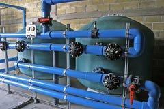 Wasserbehandlung lizenzfreies stockfoto