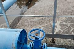 Wasserbehandlung Stockbild