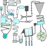 Wasserbehandlung stock abbildung