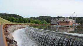 Wasserbehandlungsbecken stock footage