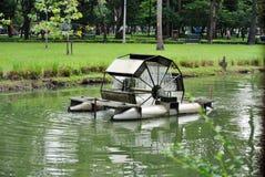 Wasserbelüftungsanlage. Lizenzfreie Stockfotos
