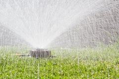 Wasserberieselungsanlage Stockfotos