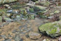 Wasserbewegungsunschärfe Stockbild