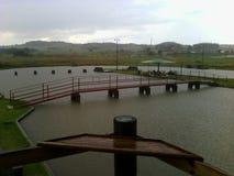 Wasserbrücke Stockfotos