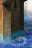 Wasserbrunnen am Auftrag Carmel Lizenzfreies Stockbild