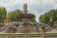Wasserbrunnen des 19. Jahrhunderts Stockfotos