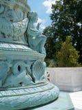 Wasserbrunnen mit Seethema im Washington DC Lizenzfreie Stockbilder