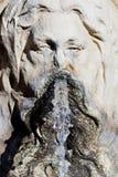 Wasserbrunnendetail stockbild