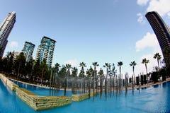 Wasserbrunnenpark Lizenzfreie Stockbilder