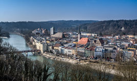 Wasserburg, Bavaria, Germany Stock Photos