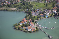 Wasserburg at Lake Constance Stock Photos