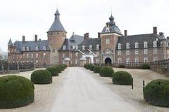 Wasserburg för anholt för slottschlosskasteel Royaltyfria Bilder