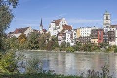 Wasserburg in Upper Bavaria Stock Images