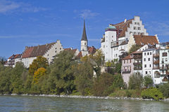 Wasserburg in Upper Bavaria Royalty Free Stock Images