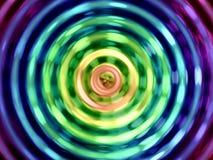 Wassereffekthintergrund, bunte Wasserresonanz lizenzfreie stockfotos