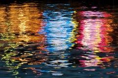 Wassereindruck Stockfotografie
