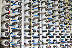 Wasserentsalzungsanlage Lizenzfreies Stockfoto