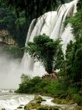 Wasserfälle Stockbild