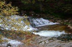 Wasserfälle auf Labe Stockbild