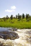 Wasserfälle auf Zlatibor lizenzfreie stockfotos