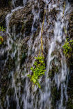 Wasserfälle bei Monasterio de Piedra, Saragossa, Aragonien, Spanien Stockfoto