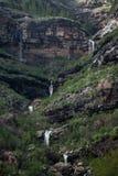 Wasserfälle in den Bergen von Gran Canaria, Spanien stockfoto