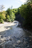 Wasserfälle des Kaukasus Stockbild