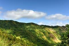 Wasserfälle EL Nicho in Kuba Stockbilder