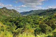 Wasserfälle EL Nicho in Kuba Lizenzfreie Stockfotografie