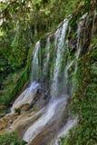 Wasserfälle EL Nicho in Kuba Stockfotografie