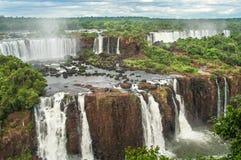 Wasserfälle in Iguazu Stockfoto