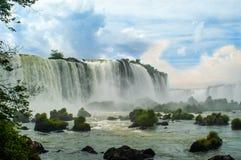 Wasserfälle in Iguazu Lizenzfreie Stockbilder
