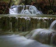 Wasserfälle im Dorf von Krushuna lizenzfreies stockfoto