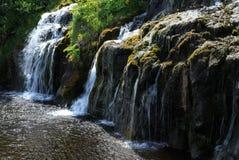 Wasserfälle in Island Stockfoto