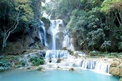 Wasserfälle Kouang XI Lizenzfreies Stockfoto
