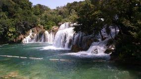 Wasserfälle Krka Stockbilder