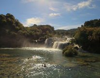 Wasserfälle (Kroatien) Lizenzfreie Stockbilder