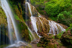Wasserfälle Krushuna stockbild