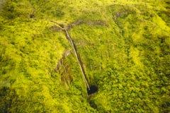Wasserfälle in Maui Hawaii Lizenzfreie Stockbilder