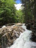 Wasserfälle in NH lizenzfreie stockfotos